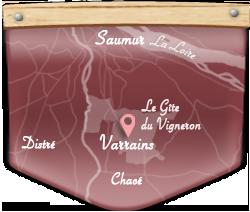 Le Gîte du Vigneron – Saumur Varrains Loire